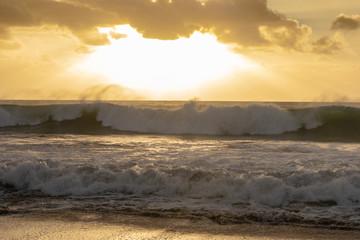 Mandurah Beach At Sunset