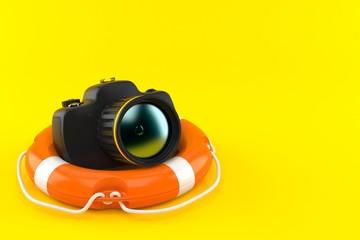 Camera with life buoy