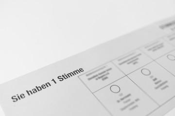 Landtagswahl Bayern 2018, Wahlunterlagen