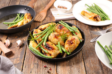 chicken with green bean