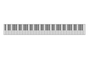 Piano keyboard instrument background