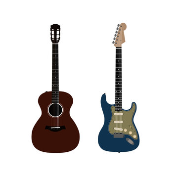 Vector Acoustic/Electric Guitar