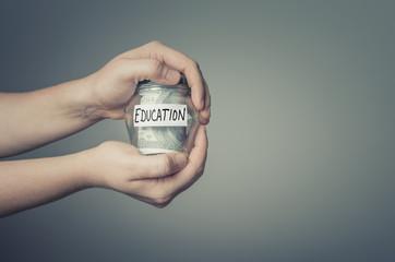 Education savings concept