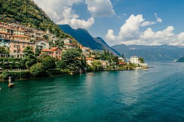 Italy Como Lake drone Air drone summer photo