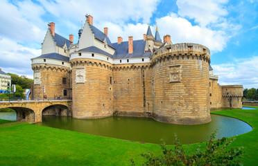 Château des Ducs de Bretagne, Nantes, Bretagne, France Fotomurales