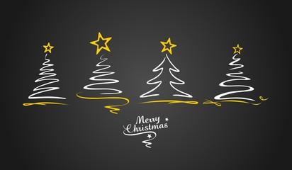 Weihnachten Weihnachtsbäume