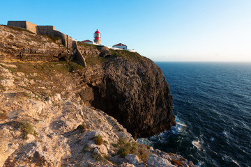 Phare du cap Saint-Vincent Sagres Portugal