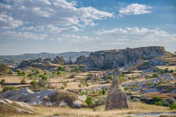 Beautiful views of the valley, Turkey, Cappadocia