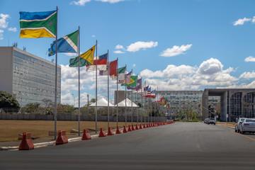 States Lane (Alameda dos Estados) - Brasilia, Distrito Federal, Brazil