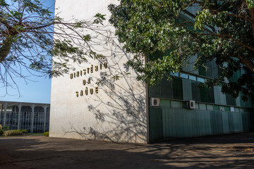 Ministry of Health Building - Brasilia, Distrito Federal, Brazil