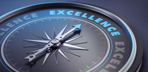 Dunkler Kompass - Konzept Excellence