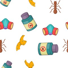 No insects pattern. Cartoon illustration of no insects vector pattern for web