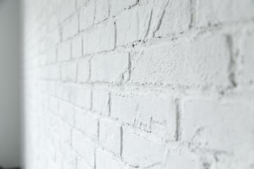 rustical white brick wall