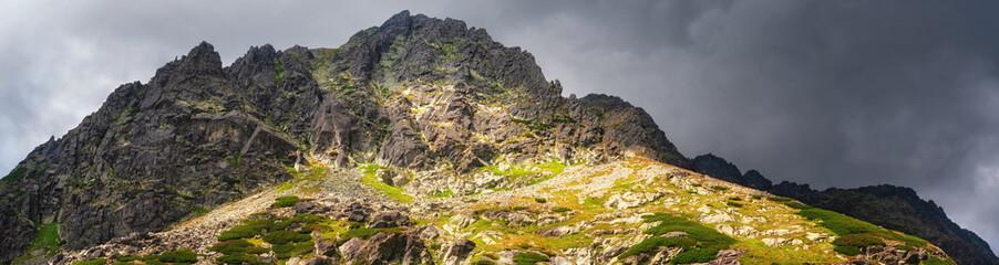Mountain High Tatras National Park.