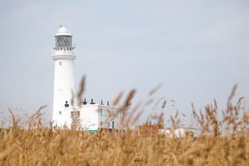 Leuchtturm auf Flamborough Headland, England