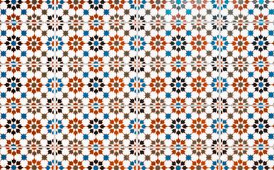 oriental pattern,  mosaic tiles