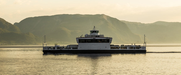 Car-ferry in Norway
