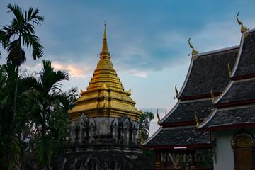 Chiang man temple, Chiang Mii, Thailand.