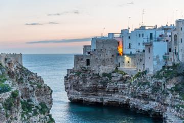 Polignano di Mare Italy on the Adriatic Coast
