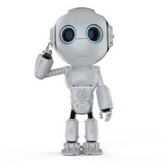 mini robot think