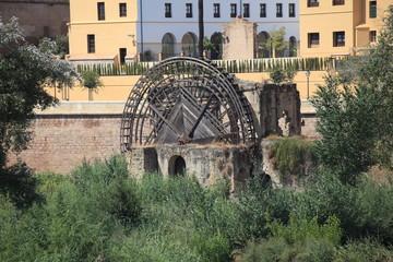 Foto auf Acrylglas Mühlen Old Mill, Cordoba, Spain