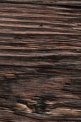 Vintage brown scratched wooden surface