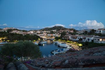 Porto Rotondo di sera Sardegna