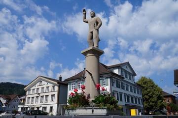 ランツゲマインデ広場(スイス・アッペンツェル)