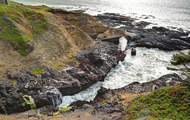 Along the Oregon Coast: The Spouting Horn