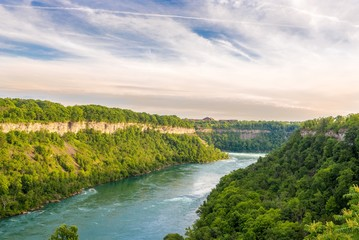Wall Mural - View at the Niagara river in Canada
