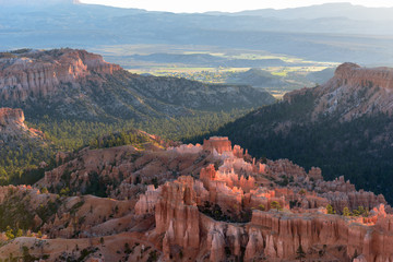 Valley view in the morning at Bryce Canyon National Park, Utah, USA