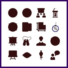 strategy icon. note and idea vector icons in strategy set. Use this illustration for strategy works.