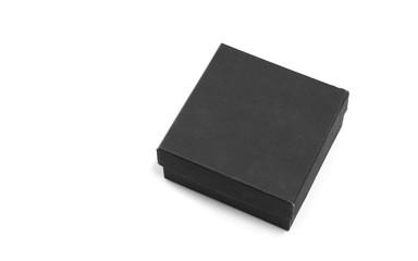 black empty box on white background. Fototapete