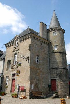 Ville de Combourg, Château de Combourg (XIIe-XVe) classé Monument Historique, département d'Ille-et-Vilaine, Bretagne, France