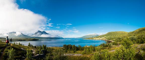 Panorama Tromso Bucht