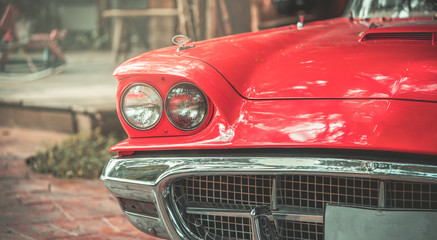 Canvas Prints Vintage cars Old Car Collection