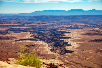Vista from the Island in the Sky section of Canyonlands National Park, Utah