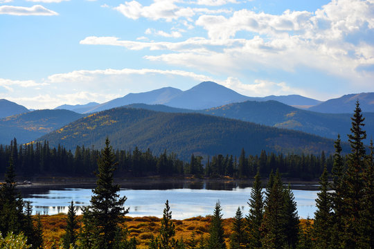 Lake Echo in the Colorado Rocky Mountains