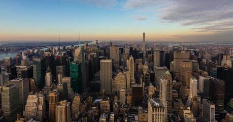 Vista aérea de Manhattan III