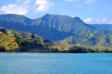 Emerald Mountains Hover Over Hanalei Bay