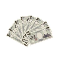 一万円札 イラスト