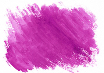 Pink or rose watercolor dry brush strokes. Beautiful abstract background for designers, mock-ups, invitations, postcards, canvas for text and congratulations.