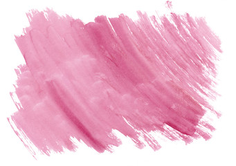 Pink or rose watercolor gradient background. Beautiful abstract canvas for congratulations, valentines, invitations, engagements, postcards, text and web.