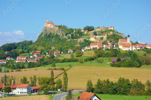 Ancient Medieval Fortification And Castle Riegersburg Located In