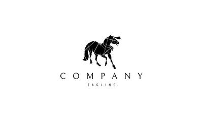 Black Horse Vector logo Image