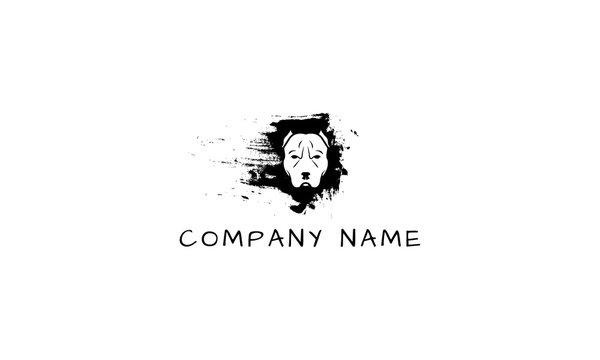 Pitbull vector logo image