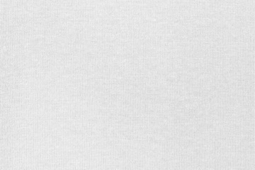 Aluminium Prints Fabric White cotton fabric canvas texture background for design blackdrop or overlay background