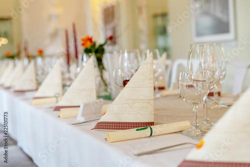 Dinner Festliche Tischdeko Stock Photo And Royalty Free Images On