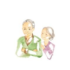 シニア、老夫婦