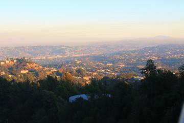 グリフィス天文台からの景色